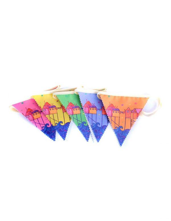 banderín arte chiloé