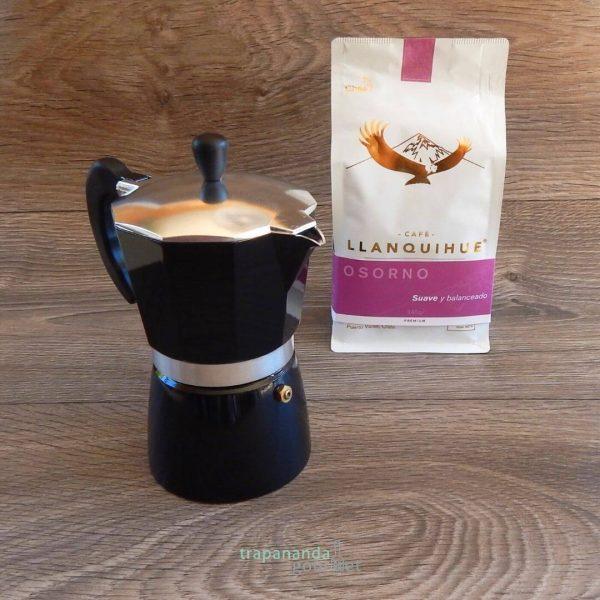 Cafetera italiana y café de origen